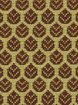 <b>Pattern:</b>  OTTOMAN LEAF   <br>      <b>Color:</b>  RED            <br>